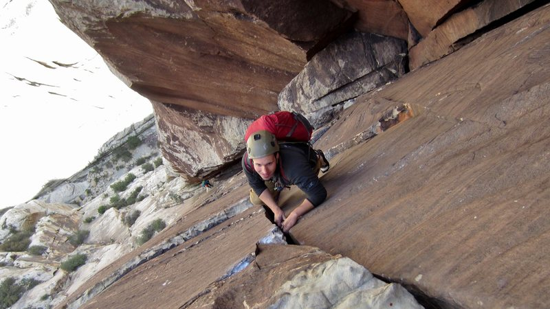 Rock Climbing Photo: Epinephrine!