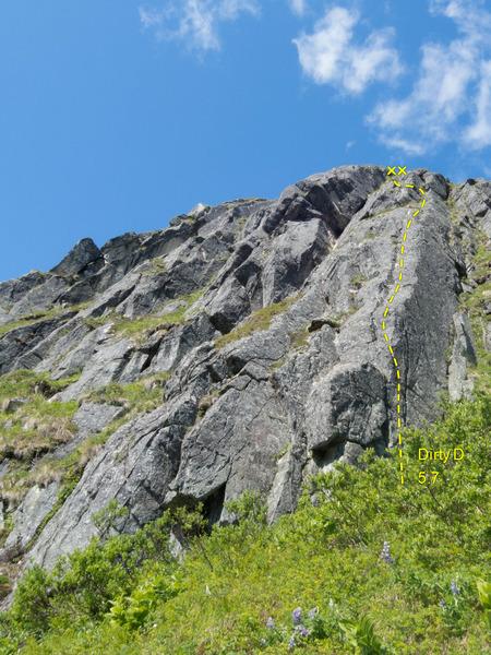 Rock Climbing Photo: Dirty D