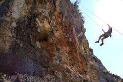 Rock Climbing Photo: jump