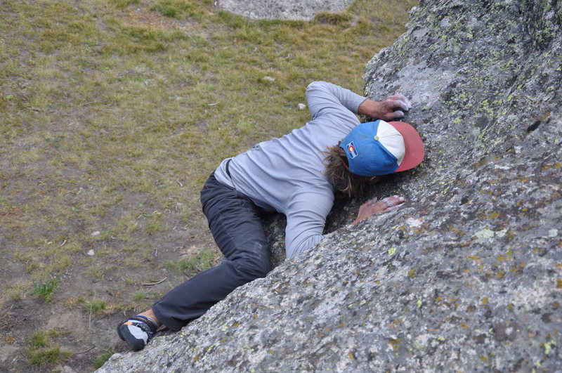 Rock Climbing Photo: Does Backcountry Bouldering ever end well...