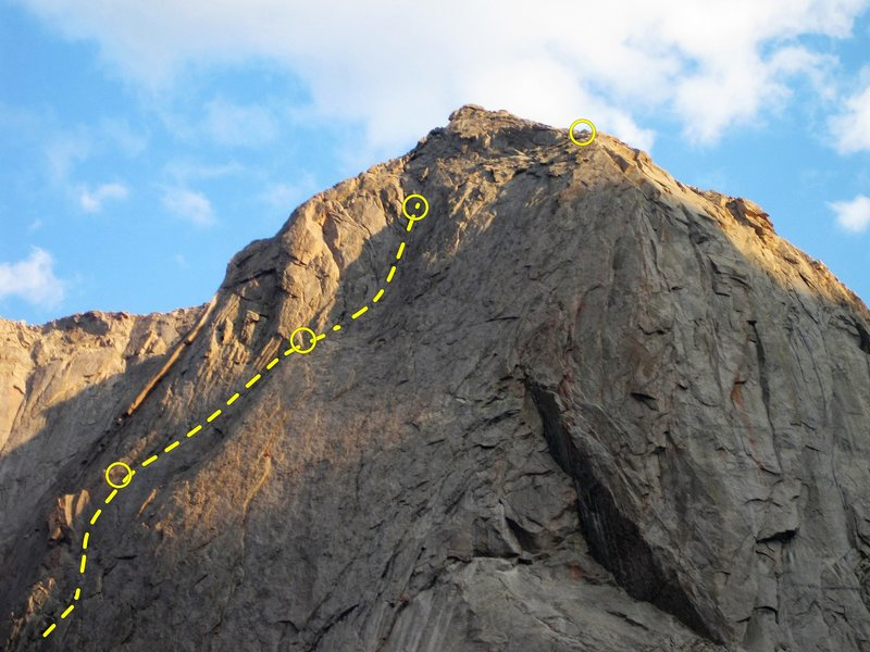 Beckey Chouinard Route Mitchell Peak 5.7ish...Grand Adventure