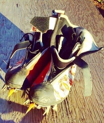 Rock Climbing Photo: Kayland Ice Dragons size 43 good condition the BD ...