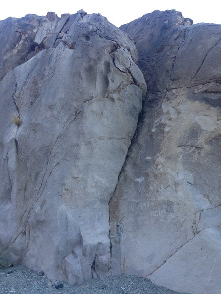 Rock Climbing Photo: The Dihedral on the right side of the 30' Wall...
