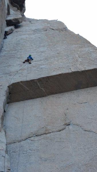 Superb balancy climb from start to finish