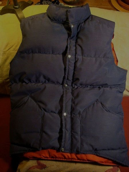 Rock Climbing Photo: Trail Wise down filled vest