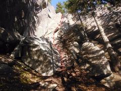 Rock Climbing Photo: Yang