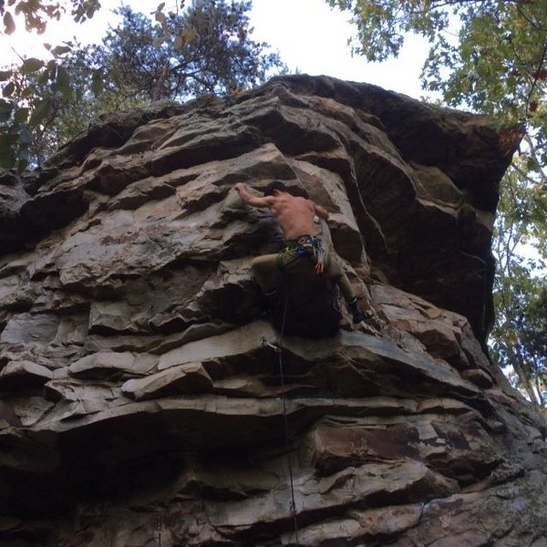 Rock Climbing Photo: Another shot of the short but incredibly sweet &qu...