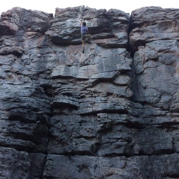 Rock Climbing Photo: Managed to put this one in the bag last weekend, s...