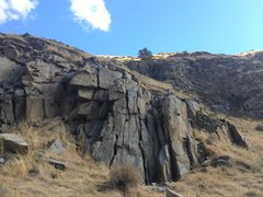 Rock Climbing Photo: Roadside Crag