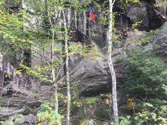 Rock Climbing Photo: Stan Lajoie thuggin' his inner Stansquamptch.
