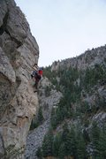 Rock Climbing Photo: Boulder canyon (photo cred: Rob Blakemore)