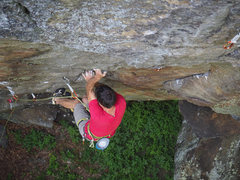 Rock Climbing Photo: Zah Dude at Chatiemac.