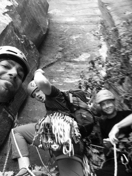 Rock Climbing Photo: Me ,Jesse, Dale the Legend & Comunity Pillar!!