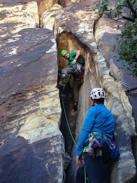 Rock Climbing Photo: Jesse, Mike & das Frigid Air!!