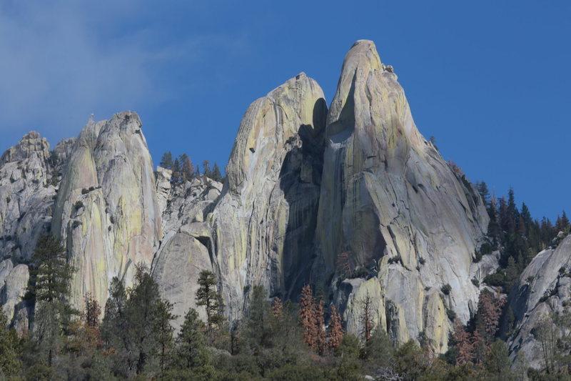 Rock Climbing Photo: needles, oct 17th 2016