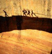 Rock Climbing Photo: Akiti art