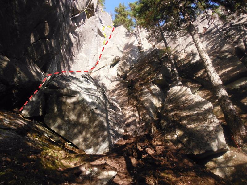 Rock Climbing Photo: Yin