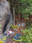 Rock Climbing Photo: Annticipation as seen from the No Pads Necessary a...