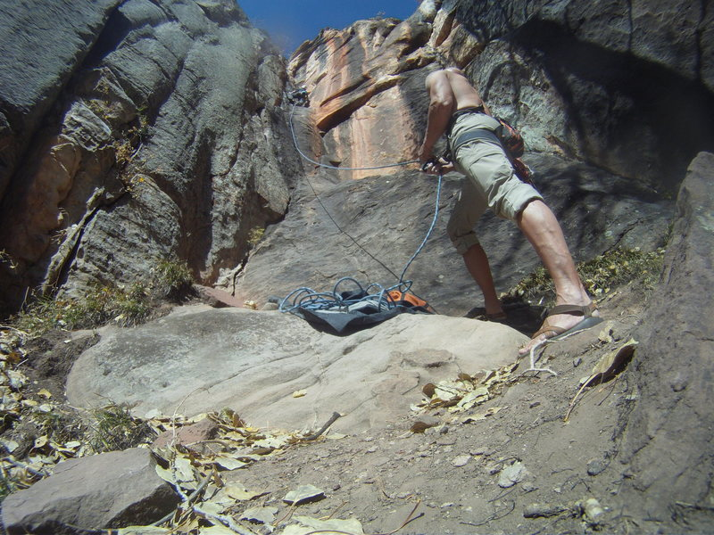 Rock Climbing Photo: Guave Jelly, harder than looked