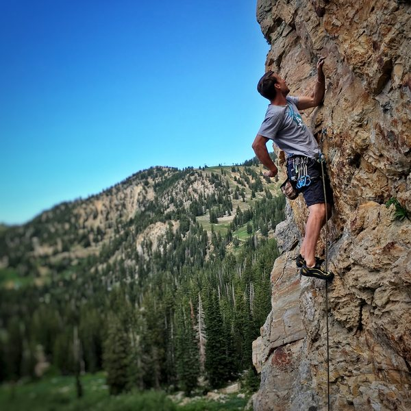 Rock Climbing Photo: Creek Side