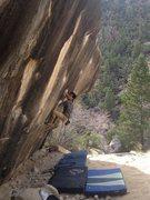 Rock Climbing Photo: Working they call him Jordan