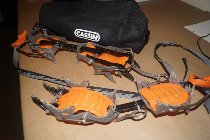 CAMP Cassin C14 Crampons<br> Retail: $160<br> Selling for: $105<br>