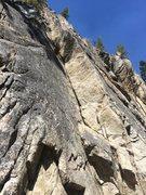 Rock Climbing Photo: 5.8 Dihedral