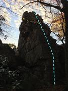 Rock Climbing Photo: Spinal Tap (5.4)