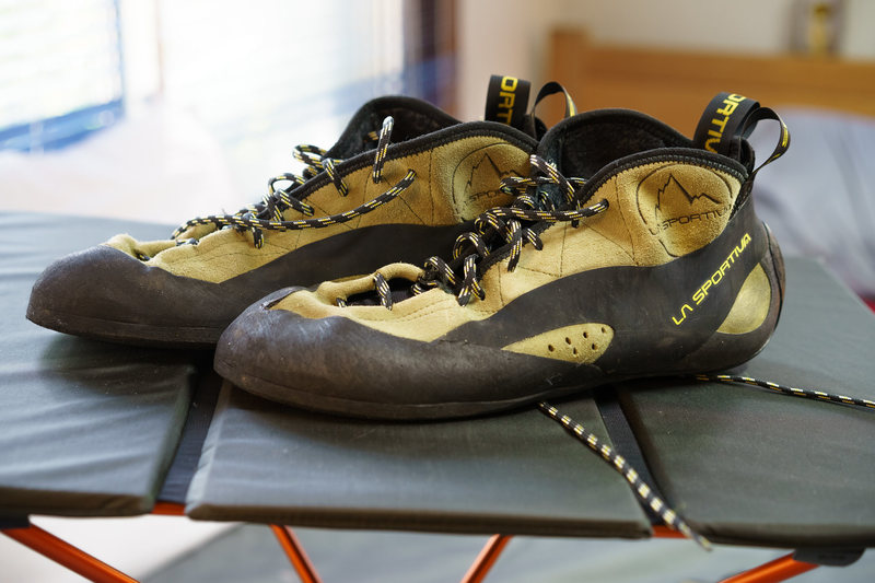 Rock Climbing Photo: FS: La Sportiva TC Pro 44.5 Like New