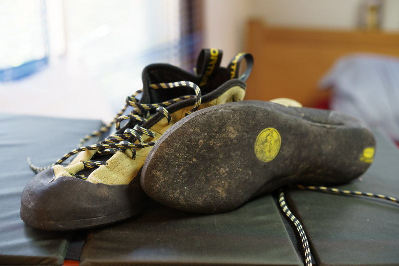 Rock Climbing Photo: FS: La Sportiva TC Pro 44.5 Like New