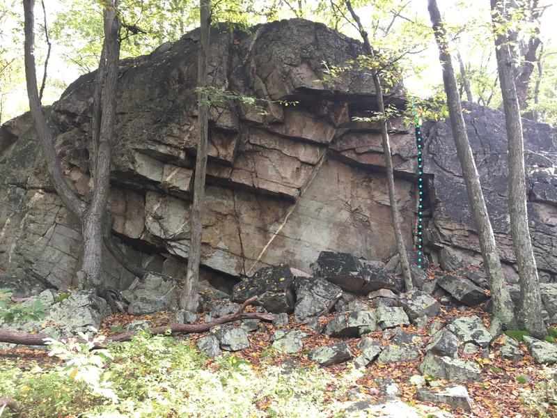 Rock Climbing Photo: Han Solo (5.2)