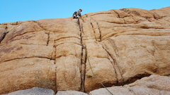 Rock Climbing Photo: Steeper than it appears here.