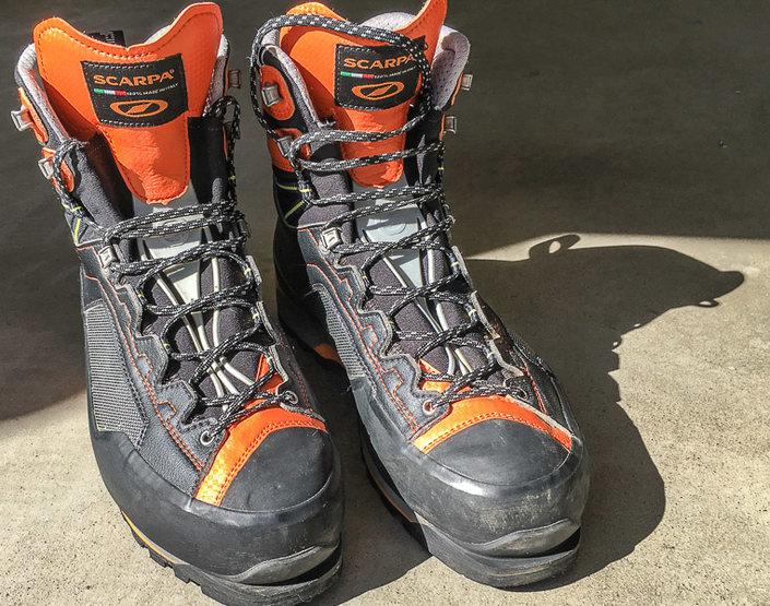 Rock Climbing Photo: Scarpa Rebel Pro GTX - front right