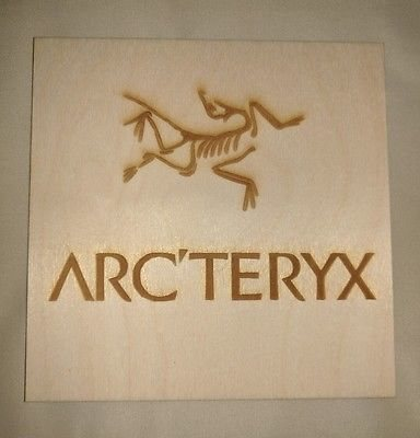 Rock Climbing Photo: Arc'teryx plaque.