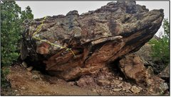 Rock Climbing Photo: Big Galoot.