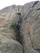 Rock Climbing Photo: Hairy Upper Lip Drip (5.10b)