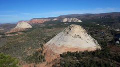 Rock Climbing Photo: from N Guardian looking at the Northgate peaks vie...