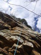 Rock Climbing Photo: Bomb's Away P3 Suck Creek Canyon Spring 2015 P...