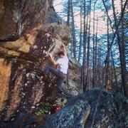 Rock Climbing Photo: Hippy Mafia.