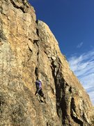 Rock Climbing Photo: Hailstone crack on a perfect Oct day