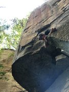 Rock Climbing Photo: One of my buddies brought me here and introduced m...