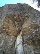 Rock Climbing Photo: Straight and Narrow.