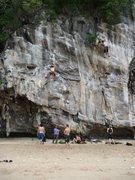 Rock Climbing Photo: Climbing in Ton Sai, Thailand