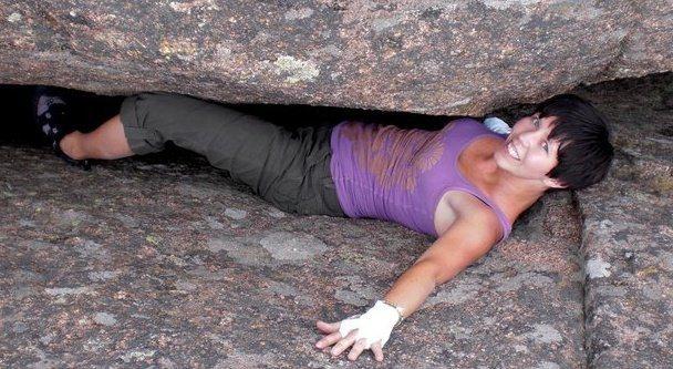 Rock Climbing Photo: Climbing at Turkey Rocks, Colorado