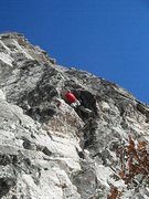 Rock Climbing Photo: FA Cowboy Yoga