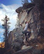 Rock Climbing Photo: Parable (V1).