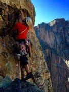 Rock Climbing Photo: Cloaked Interpretation - Black Canyon
