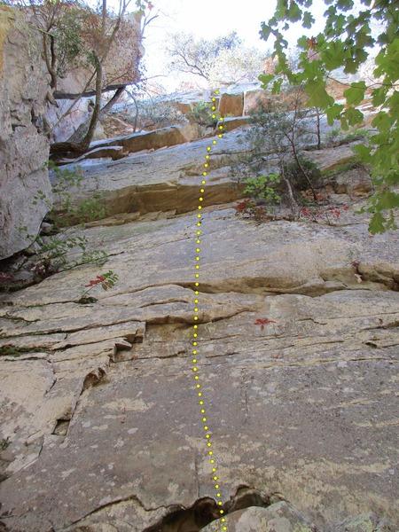 Rock Climbing Photo: Autumn Sonata, Jamestown, AL