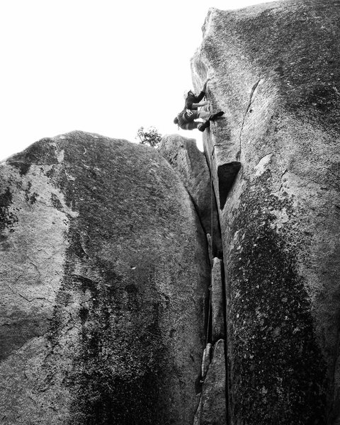 Rock Climbing Photo: Ian Eisenberg on Blade Runner!!!