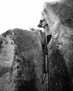 Rock Climbing Photo: Ian Eisenberg on Blade Runner!!!